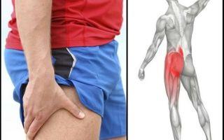 Причины боли в ноге от бедра до колена