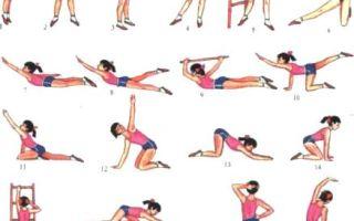Физические упражнения для лечения сколиоза