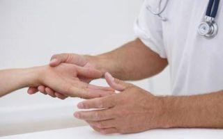 Почему немеет средний палец на руке