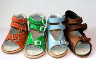 Обувь при вальгусной деформации стопы