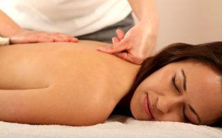 Особенности проведения массажа позвоночника