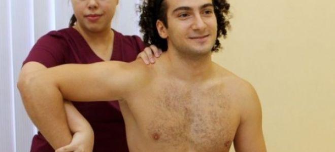 Лечебные упражнения при плечелопаточном периартрите