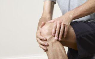 Гонартроз (отложение солей в коленном суставе)