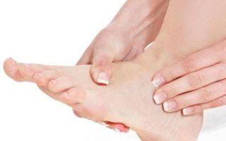 Боль в подошве ноги около пальцев