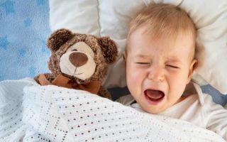 Судороги у ребенка во время сна