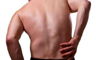 Почему может возникать боль в пояснице у мужчин?
