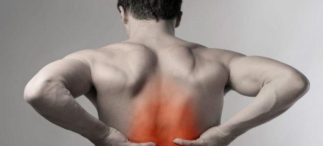 Поднял тяжести и начала болеть спина