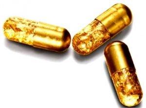 золотые капсулы