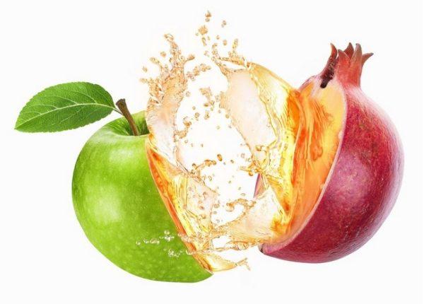 яблоко и гранат
