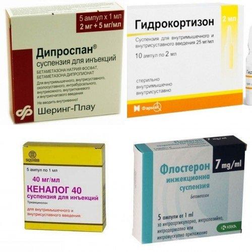 глюкокортикоидов