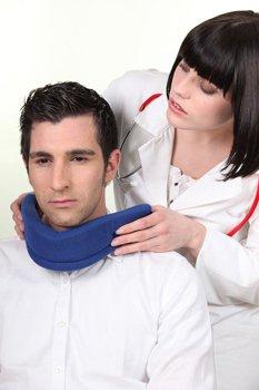 корсет на шею