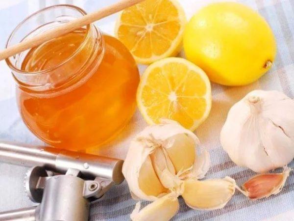 Чесночно-лимонный сок