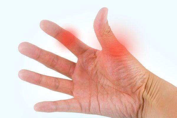 бурсит пальца на руке