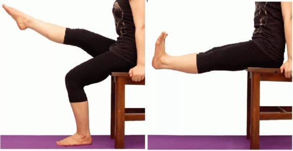 упражнение при гонартрозе