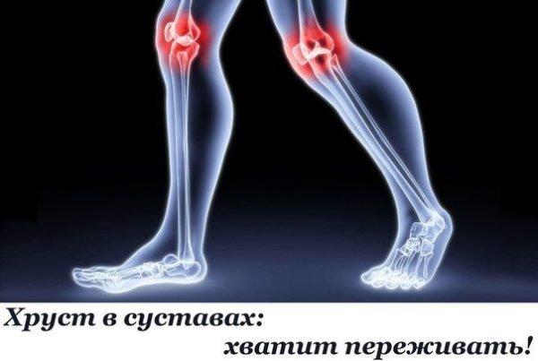Причины щелчков в суставах и способы их лечения