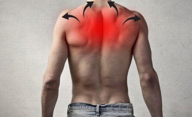 боль в спине у мужчин