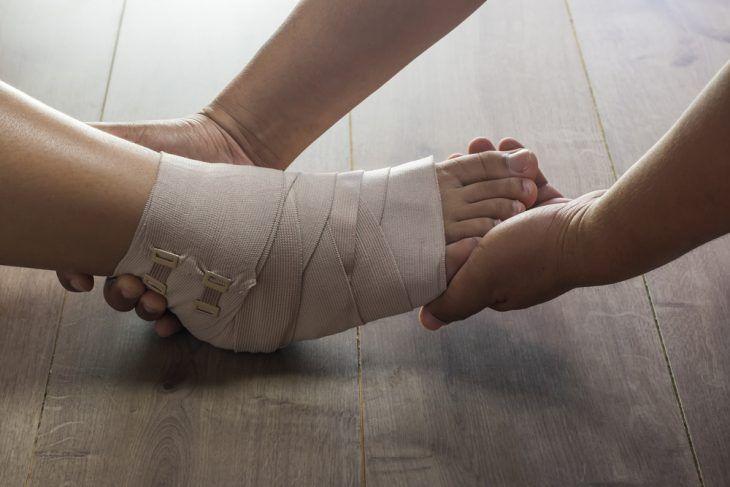 Парафиновые аппликации при переломе голеностопного сустава болит рука плечевом суставе лечение