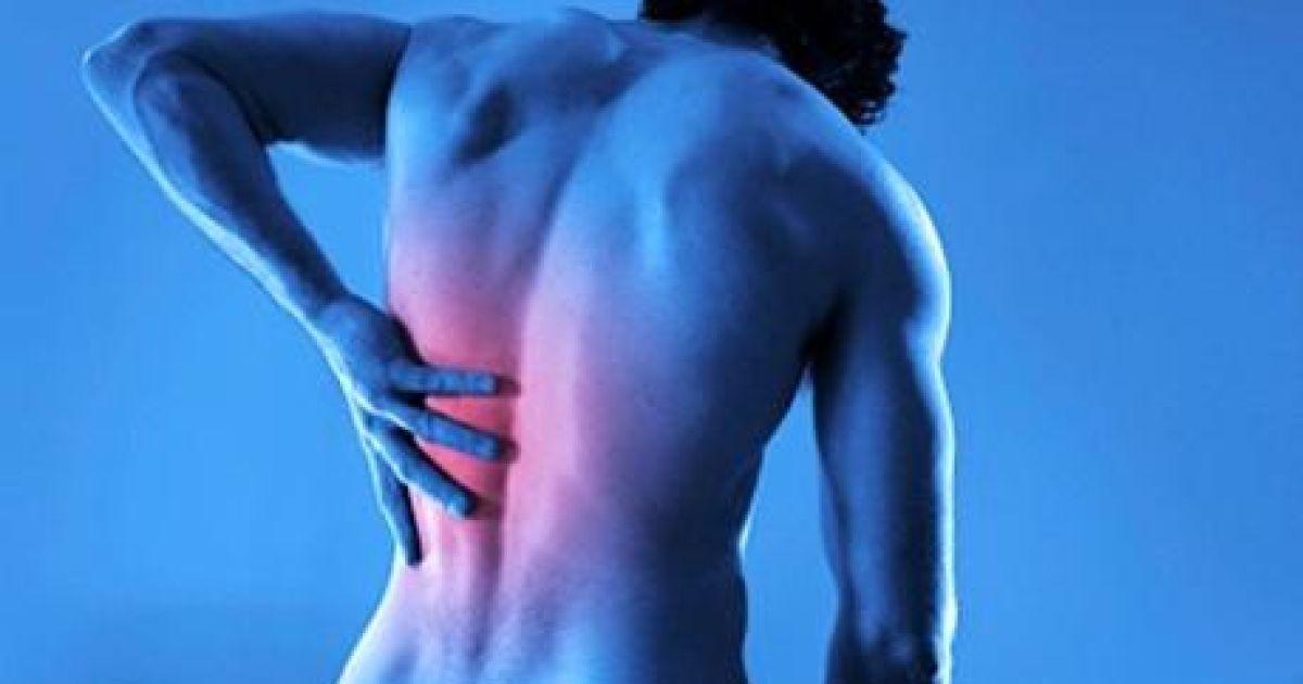 Резкая боль в спине