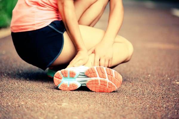 растяжение ноги