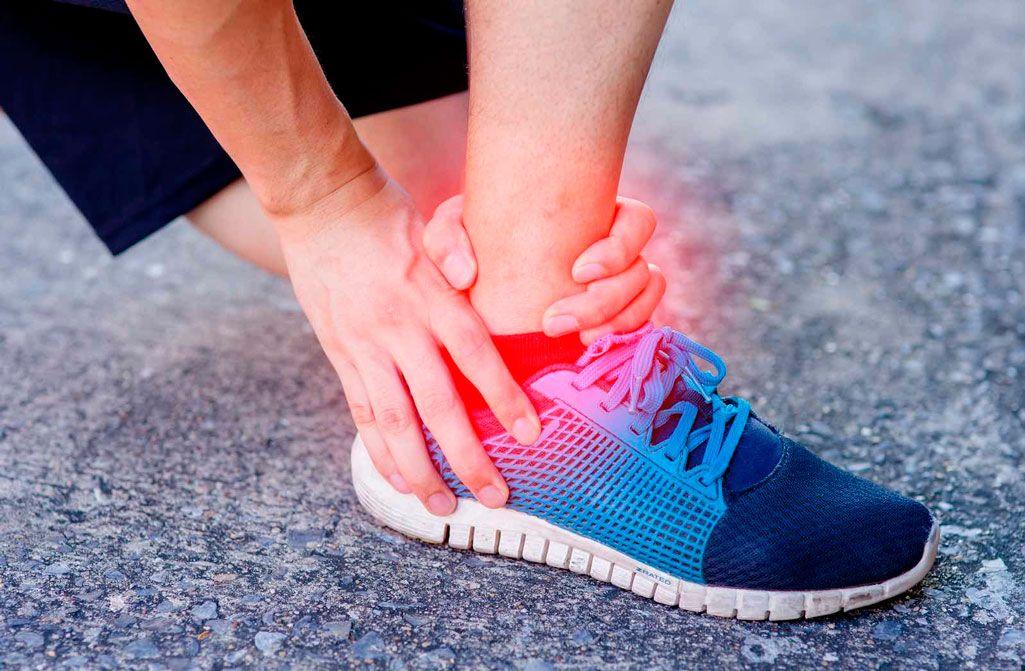 среднее растяжение ноги