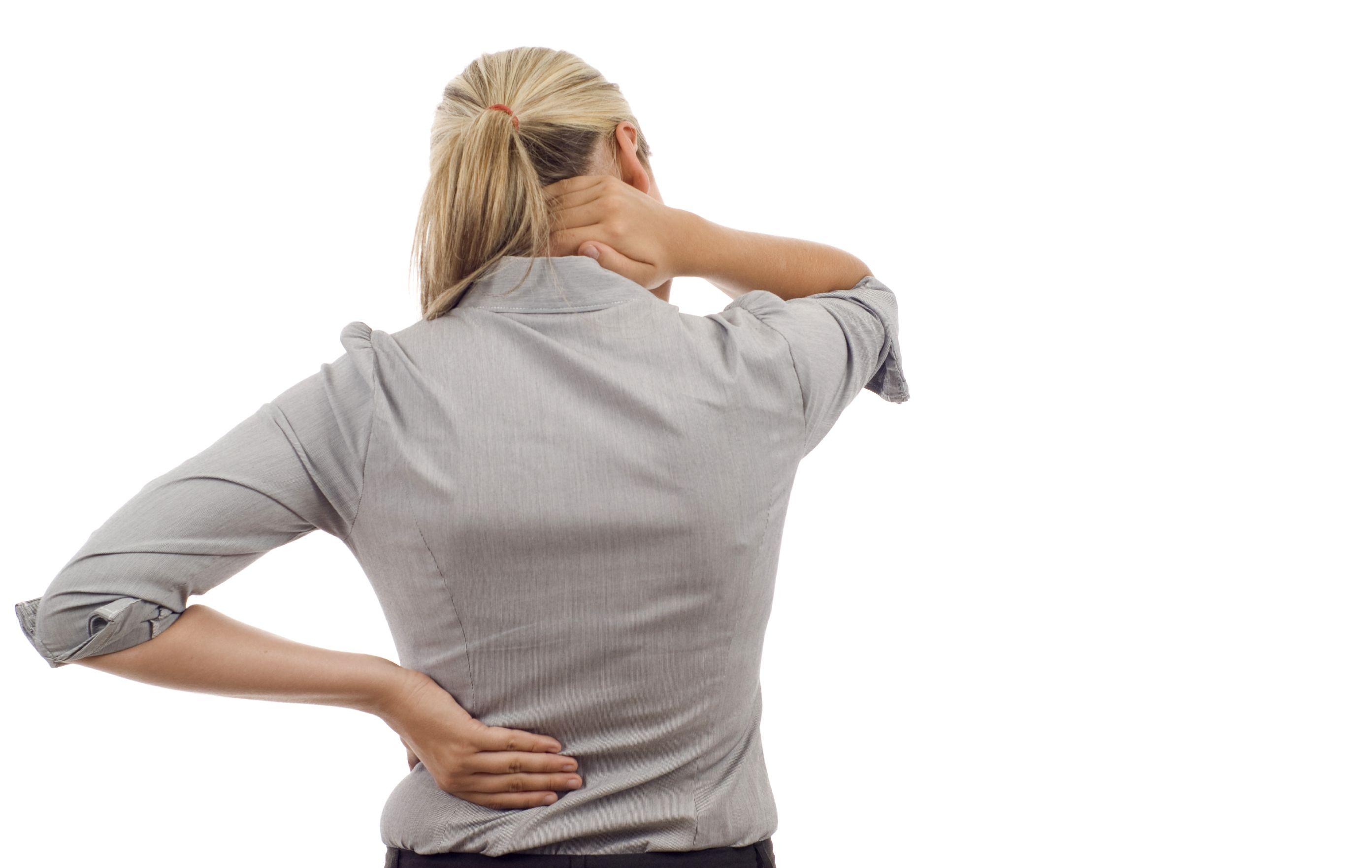 Снятие боли в спине