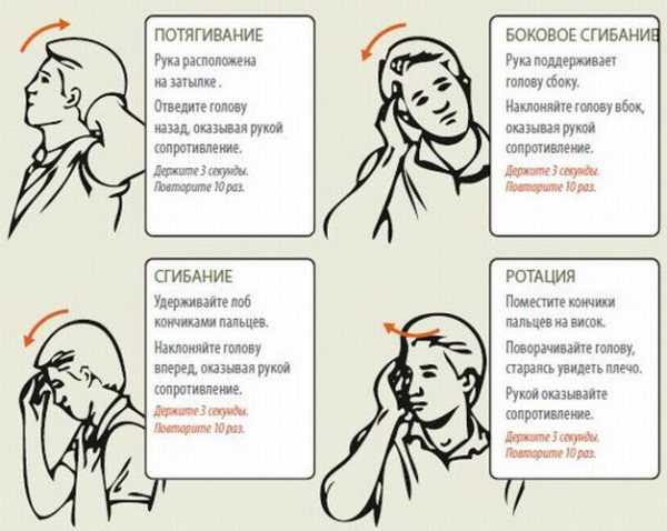 Цервикокраниалгия и постоянные сильные головные боли лечение