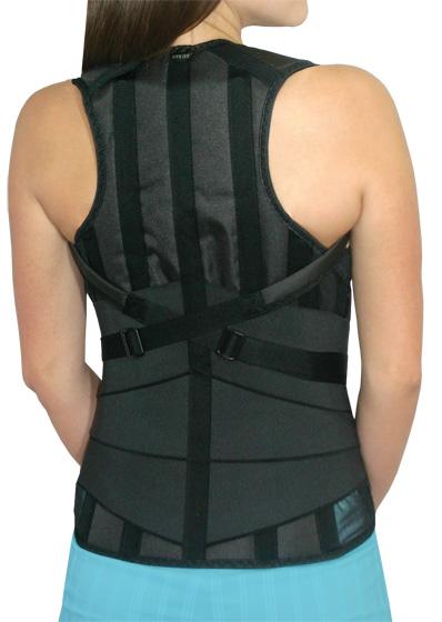Как одевать ортопедический пояснично крестцовый корсет