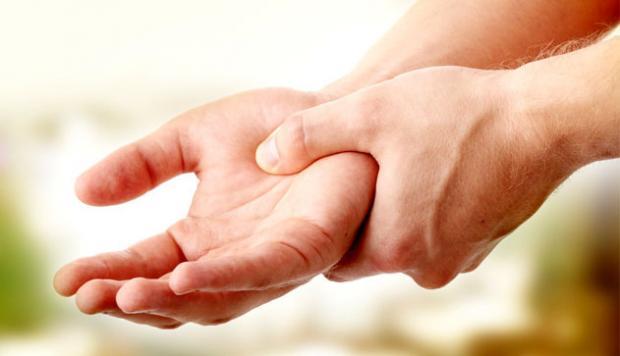 Легкое онемение ног и рук